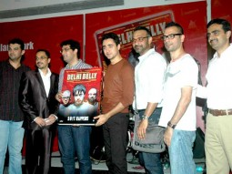 Photo Of Jim Furgele,Kunal Roy Kapoor,Imran Khan,Abhinay Deo,Akshat Verma From The DVD launch of 'Delhi Belly'