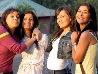Movie Still From The Film Aamras,Vega Tamotia,Ntasha Bhardwaj,Anchal Sabharwal,Maanvi Gagroo