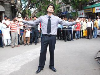 On The Sets Of The Film Aamir Featuring Rajeev Khandelwal,Gajraj Rao,Shashanka Ghosh,Kanchan Pagare,Ghazala Ameen