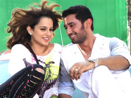 Movie Still From The Film Miley Naa Miley Hum,Kangna Ranaut,Chirag Paswan