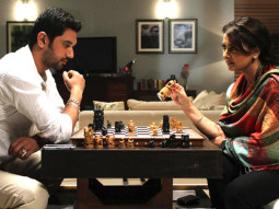 Movie Still From The Film Miley Naa Miley Hum,Chirag Paswan,Poonam Dhillon