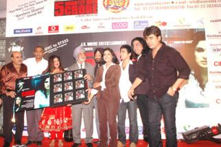 Photo Of Bandana Sharma,Kavita Radheshyam,Abhishek Kumar,Faisal Saif From The Audio release of '5 Ghantey Mien 5 Crore'