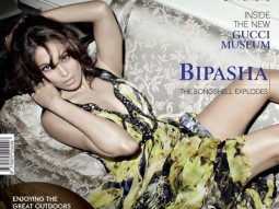 Bipasha Basu On The Cover Of The Man,Nov 2011