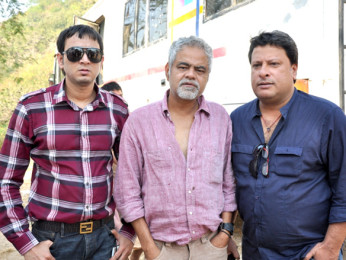 On The Sets Of The Film Pranam Walekum Featuring Sandiip Kapur,Sanjay Mishra,Tigmanshu Dhulia