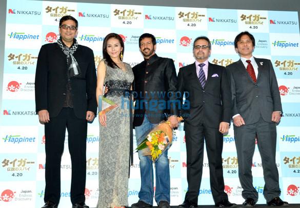 Aashish Singh, Sugimoto Aya, Kabir Khan, Avtar Panesar, Kato Takashi