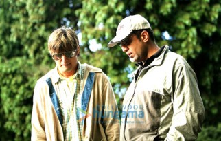 On The Sets Still From The Film Strangers Featuring Jimmy Shergill,Anand L Rai