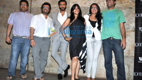 Tanuj Garg, Ranveer Singh, Ekta Kapoor, Sonakshi Sinha, Vikramaditya Motwane