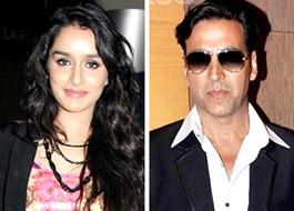Shraddha Kapoor signed opposite Akshay for Gabbar