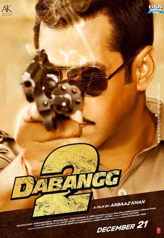 Dabangg 2 Cover