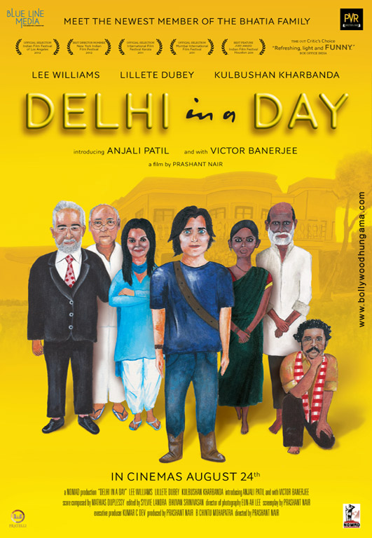 Delhi In A Day Cover