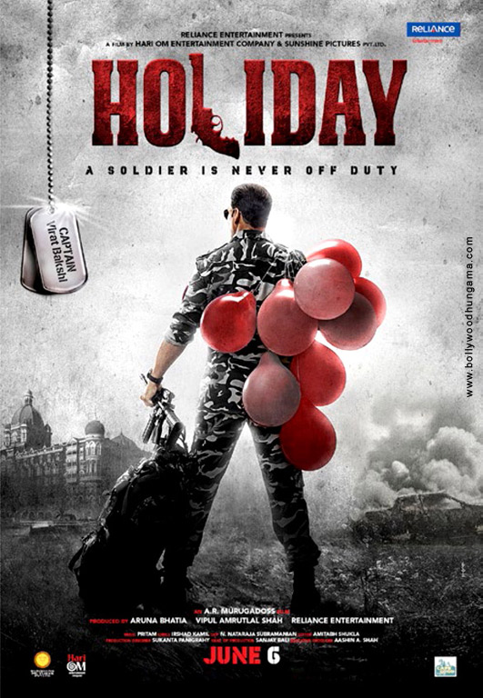 Holiday - A Soldier Is Never Off Duty Cover