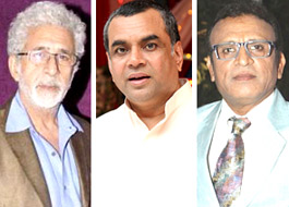 Naseeruddin Shah, Paresh Rawal and Annu Kapoor come together