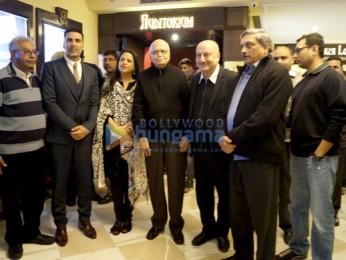 Akshay Kumar, Pratibha Advani, Shri L.K Advani, Anupam Kher, Manohar Parirkar, Neeraj Pandey