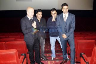 Anupam Kher, Bhushan Kumar, Neeraj Pandey, Akshay Kumar