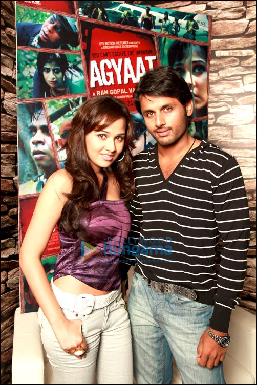 Priyanka Kothari and Nitin Reddy on Agyaat and working with RGV