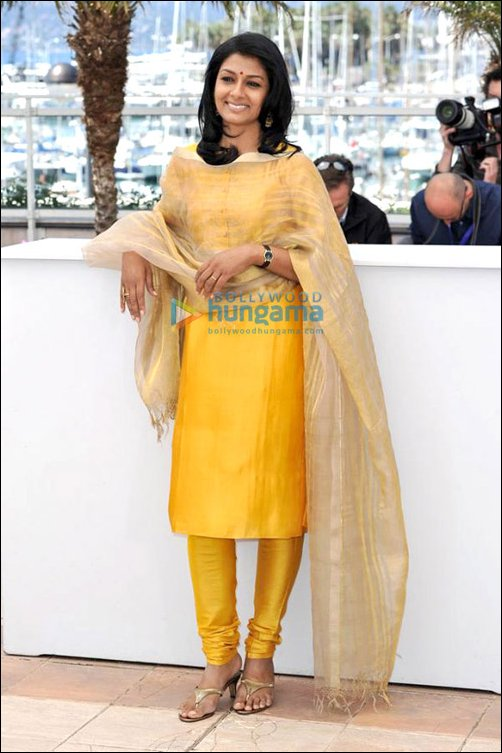 Cannes Day 8: Ameesha, Puja, Sherlyn and Nandita walk the red carpet