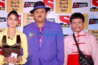 Photo Of Sonali Nikam,Nitesh Pandey,Viinod Rai From The SAB TV launches 'Jaankhilavan Jasoos'