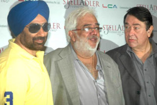 Photo Of Sunny Deol,N Chandra,Randhir Kapoor From The Sunny Deol at Stell Adler studio launch
