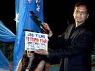 On The Sets Of The Film Ye Stupid Pyar Featuring