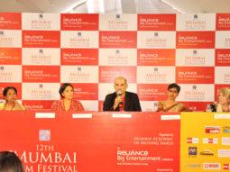 Photo Of Uma da Cunha,Konstnz Welz,Dev Benegal,Meenakshi Shedde,Theresse Hayes From The Open Forum taking place at 12th Mumbai Film Festival