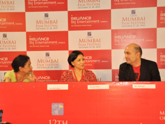 Photo Of Uma da Cunha,Konstnz Welz,Dev Benegal From The Open Forum taking place at 12th Mumbai Film Festival