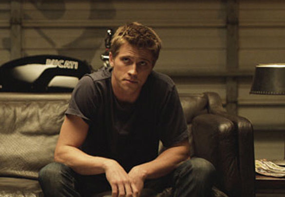 Movie Still From The Film Tron: Legacy,Garrett Hedlund
