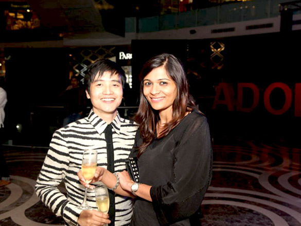 Photo Of Jenjum Gadi,Jasleen Kaur From The Preity Zinta graces the launch of Adolfo Dominguez store