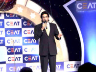 Photo Of Wasim Akram From The Neha Dhupia and top cricketers at Ceat World Cup Awards