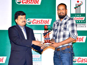 Photo Of Yusuf Pathan From The Sachin and Sehwag at Castrol Cricket Awards