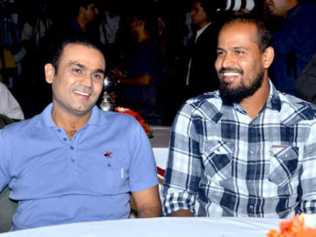 Photo Of Virender Sehwag,Yusuf Pathan From The Sachin and Sehwag at Castrol Cricket Awards