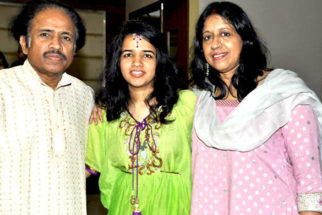 Photo Of Dr L Subramaniam,Bindu Subramaniam,Kavita Krishnamurthy From The Louis Banks releases Bindu Subramaniam's album 'Surrender'
