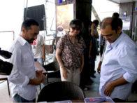 On The Sets Of The Film Kucch Luv Jaisaa Featuring Rahul Bose,Shifaali Shah,Neetu Chandra,Sumeet Raghavan,Manmeet Singh,Kunal Kumar,Amin Hajee,Om Puri