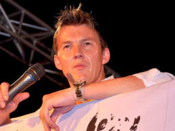 Photo Of Brett Lee From The Brett Lee performs at Inorbit Mall
