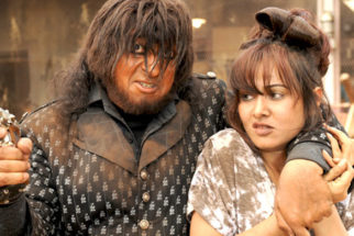 Movie Still From The Film Bin Bulaye Baarati,Gulshan Grover,Priyanka Kothari