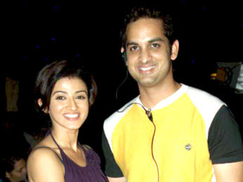 Photo Of Suhasi Dhami,Vikas Kalantri From The Technical rehearsal of 4th Boroplus Gold Awards 2011 Mumbai