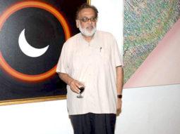Photo Of Jagmohan Mundhra From The Painter Ghashyam Gupta's exhibition