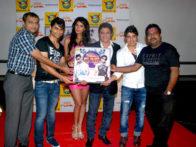 Photo Of Abhishek Anand,Nicole Faria,Anand Raj Anand,Harry Anand From The Nicole Faria at Harry Anand's 'Desi Funk' album launch