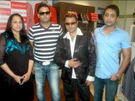 Photo Of Prashant Shirsat,Taz,Teenu Arora From The Launch of Prashant Shirsat's album 'Deva o Deva'