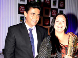 Photo Of Mohnish Bahl,Ektaa Behl From The Press conference of Sony's new serial 'Kuch Toh Log Kahenge'