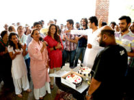 On The Sets Of The Film Love Breakups Zindagi Featuring Zayed Khan,Dia Mirza,Cyrus Sahukar,Tisca Chopra,Satyadeep Mishra,Vaibhav Talwar,Auritra Ghosh,Umang,Farida Jalal,Pallavi Sharda,Soni Razdan