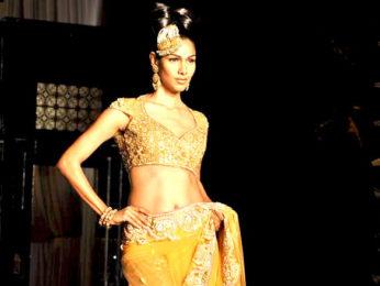 Photo Of Nethra Raghuraman From The Hema and Esha walk for Neeta Lulla at Aamby Valley City India Bridal Week 2011