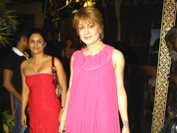 Photo Of Nandini Jumani,Bobby Darling From The Rohhit Verma's birthday bash with fashion show 'Hare'
