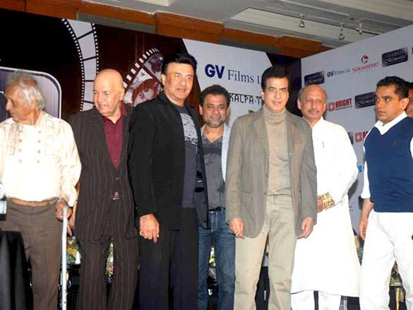Photo Of Chandrashekhar,Prem Chopra,Anu Malik,Anees Bazmee,Jeetendra, Ajay Bijli From The Bollywood legends honoured at 'Immortal Memories' event