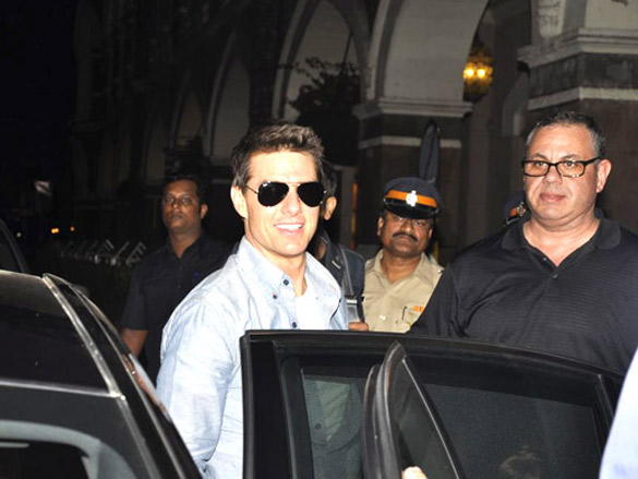 Photo Of Tom Cruise From The Tom Cruise arrives in Mumbai for 'Mission Impossible' promotions