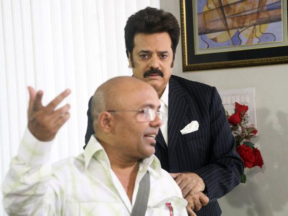 On The Sets Of The Film Faraar Featuring Akbar Khan,Shahbaaz Khan,Amit Behl,Aasif Sheikh,Kanan Malhotra,Tej Sapru,Meghna Patel,Roaleey Ryan,Shikha Chitambekar,Jennifer Pereira