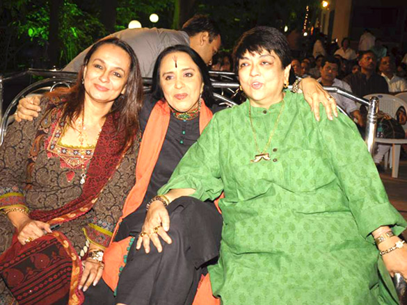 Photo Of Soni Razdan,Ila Arun,Kalpana Lajmi From The Jaya Bachchan and Shabana Azmi at Bhupen Hazarika tribute