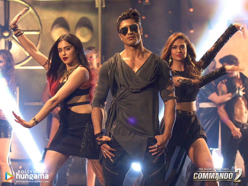 Commando 2 Wallpaper: Commando-2-2-5 - Bollywood