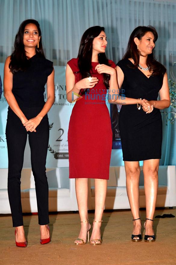 Lisa Haydon, Pooja Chopra, Diana Hayden