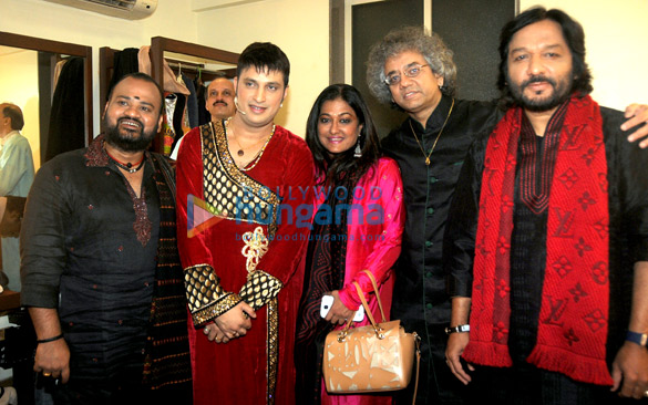 Selva Ganesh, Sandeep Mahavir Kathak, Sunali Rathod, Taufiq Qureshi, Roop Kumar Rathod