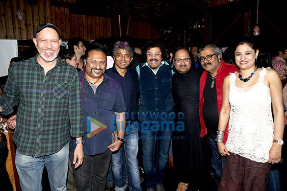 Loy Mendonsa, Lesle Lewis, Shubhra Harsha Verma, Bickram Ghosh, Ronu Majumdar, Hariharan, Suchismita